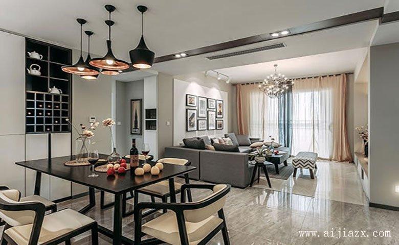 郑州现代feng格liang居室装修效guo