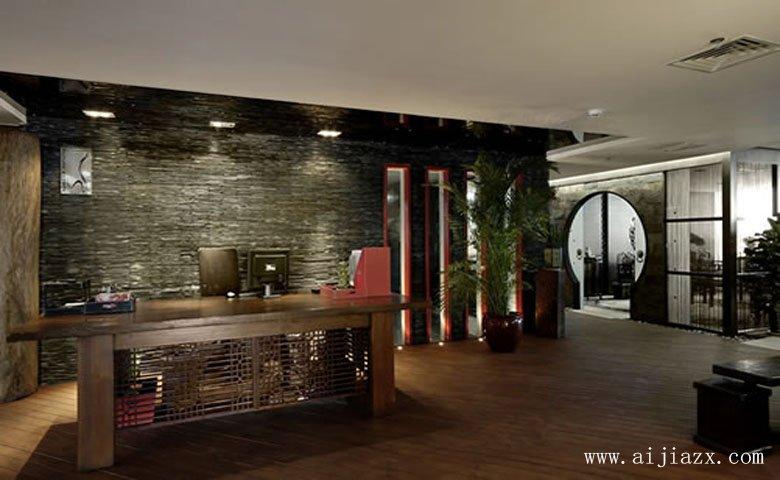 古色古xiangdezhi朴中式风格办gong室装修效