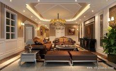 260平米的欧式风格别墅装修效果图