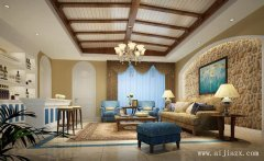 最新的地中海风格别墅装修效果图