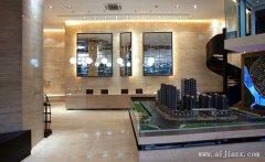 低调奢华的售楼部装修效果图