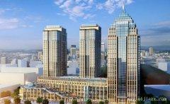 恢弘大气的商业建筑群外观设计装修效