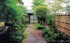 最具自然风格日式风格别墅景观装修效