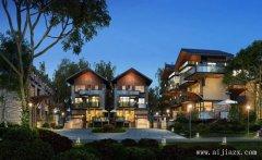 最新大方端庄的新中式风格别墅群外观