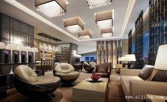 时尚的现代风格酒店装修效果图