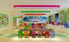 清新自然的幼儿园装修效果图