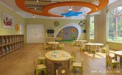 浅色调的舒适幼儿园装修效果图