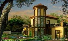 端庄风华的质朴浪漫欧式风格别墅外观