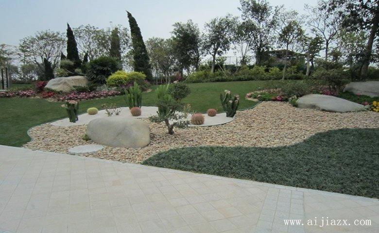 功能完善de园lin景观zhuang修xiao果图
