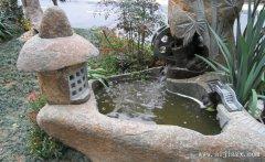 闲适惬意的石材园林景观装修