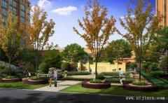 优雅诗意的小区园林景观装修