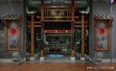 郑州中式茶楼装修效果图