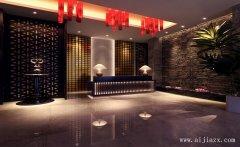 郑州多元化的休闲会所装修效果图