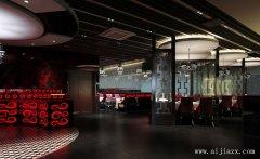郑州时尚简约的餐馆装修效果图