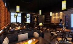 郑州复古主题的餐馆装修效果图