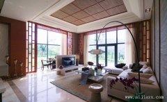 豪华的东南亚风格别墅装修效果图