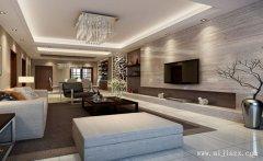 淡雅的现代风格三居室装修效果图