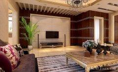 豪华舒适的混搭风格别墅装修效果图