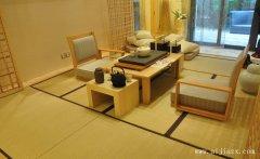 开放式的日式风格客厅装修效果图