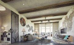 简朴的混搭风格三居室装修效果图