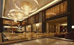 低调奢华的酒店装修效果图