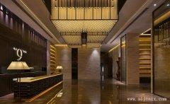高档的新中式风格酒店装修效果图