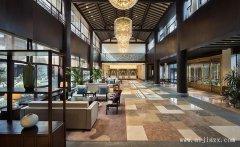 中式风格酒店大堂装修效果图