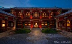 豪华的郑州中式风格酒店装修效果图