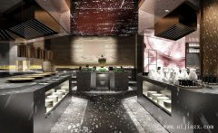 最具艺术创意自助餐馆装修效果图