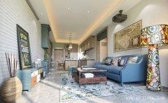 最具创意的时尚混搭风格三居室装修效