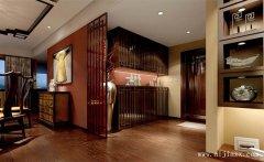 最新雅逸的新中式风格两居室装修效果