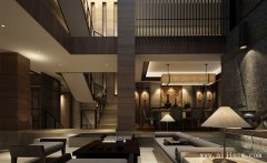 极致大气的500平米新中式风格别墅装修