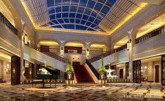 大气舒适的暖色调郑州酒店装修效果图