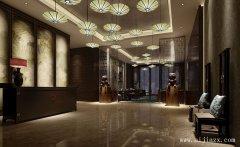 简单大气的郑州酒店装修效果图