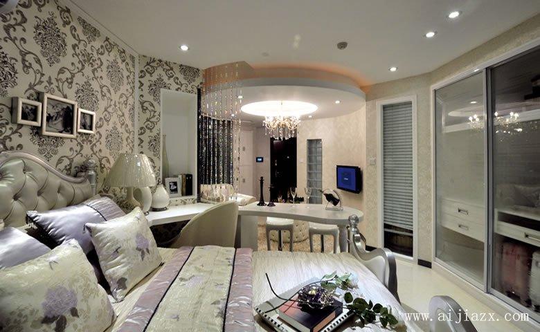 新古典风格单间装修xiaoguo图