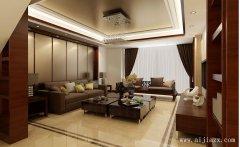 新中式风格简约客厅装修效果图