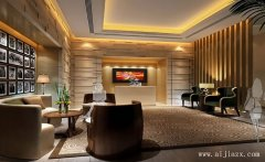郑州最新时尚个性酒店装修效果图
