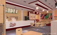 享受木质空间,时尚餐馆装修效