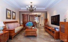 简单大方的舒适美式风格跃层阁楼装修
