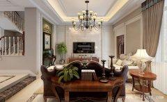 376平米纯净淡雅简美风格别墅装修效果