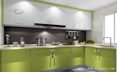 9平米的清新低调现代简约厨房装修效果