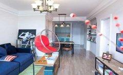 简单素雅的美式田园风格一居室装修效
