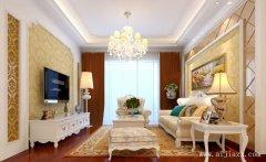 低调奢华的优雅简欧风格一居室装修效