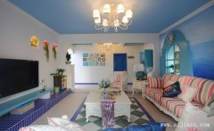 优雅迷人的个性地中海风格一居室装修