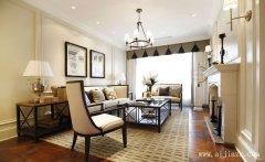 白色素净的简欧风格两居室装修效果图