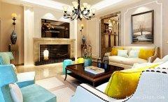 最新的三居室混搭风格装修效果图