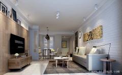 简约三居室现代风格装修效果图