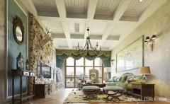 三室一厅美式风格装修效果图