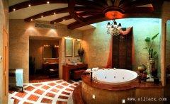 雍容奢华的欧式风格别墅卫生间装修效