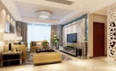 125平米大方优美的现代风格三居室装修